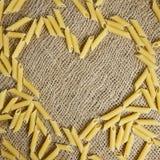 jag älskar pasta Royaltyfria Bilder