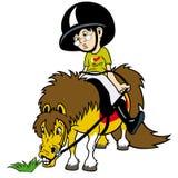 Jag älskar ponnyn Royaltyfri Fotografi