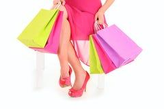 jag älskar shopping Royaltyfri Fotografi