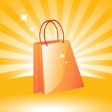 jag älskar shopping Royaltyfria Bilder