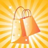 jag älskar shopping Fotografering för Bildbyråer