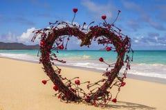 Jag älskar stranden Fotografering för Bildbyråer