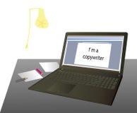 Jag är copywriter Royaltyfri Fotografi
