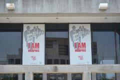 Jag är en manhedersgåva Memphis, Tennessee Arkivfoto
