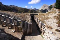 jag bergmuseet kriger världen Arkivbilder