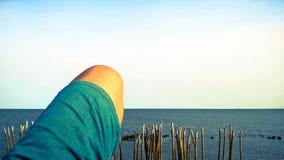 Jag bor havet Arkivbilder