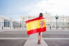 Jag gillar Madrid Arkivfoto