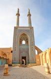 jag jame masjed moskén royaltyfri bild