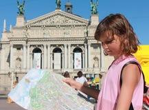 Jag kan bära dig en turnera av vår stad royaltyfri foto