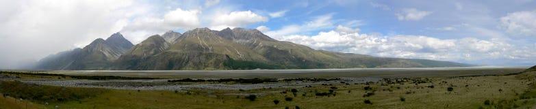 jag landscape panorama- Royaltyfri Foto