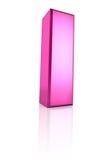 jag letter pink Royaltyfria Bilder