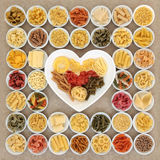 Jag älskar pasta Royaltyfria Foton