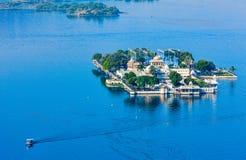 Jag Mandir Palace, lac Pichola, Udaipur, Ràjasthàn, Inde Images libres de droits