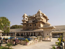 Jag Mandir palace in lake Pichola, Udaipur Royalty Free Stock Images