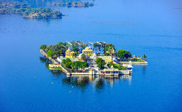 Jag Mandir Palace on lake Pichola in Udaipur, India Stock Images