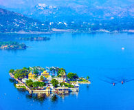 Jag Mandir Palace on lake Pichola in Udaipur, India Stock Photo