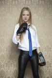 Jag ska slåss för min affär Fotografering för Bildbyråer