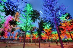 Jag-stad nöjesfält, schah Alam Malaysia Royaltyfri Foto