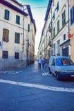 Jag var i Italien Arkivfoton