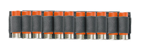 Jaga bältet med ammo Arkivfoton