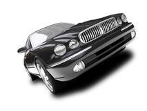 Jaga car Frontal View02 Stock Photography