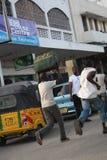jaga för buss mombasa Fotografering för Bildbyråer