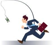 Jaga pengar Arkivbild
