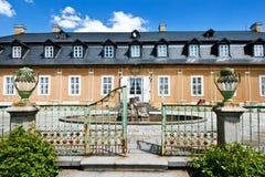 Jaga slotten i den klassiska stilen Kozel som byggs i det 18th århundradet, Pilsen region, västra Bohemia, Tjeckien Royaltyfri Bild
