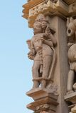 Jagadambi Temple in Khajuraho Stock Image
