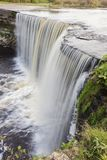Jagala Waterfall in Lahemaa National Park royalty free stock photography