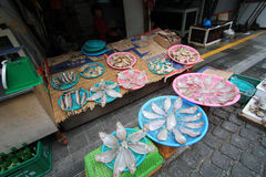 Jagalchi fish market in busan Royalty Free Stock Photography