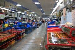 Jagalchi fiskmarknad i busan royaltyfri bild