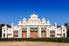 Jagan Mohan Palace. In Mysore, Karnataka, India royalty free stock photos