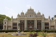 Jaganmohan palace in Mysore Stock Photos