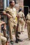 Jagannath普里警察 库存照片