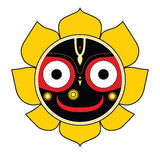 Jagannath. Indian God of the Universe. Royalty Free Stock Photography