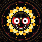 Jagannath. Indian God of the Universe. Stock Image