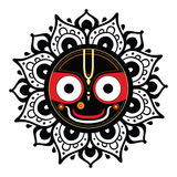 Jagannath. Indian God of the Universe. Stock Photography