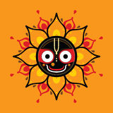 Jagannath. Indian God of the Universe. Stock Images