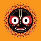 Jagannath. Indian God of the Universe. Lord Jagannatha Stock Photo