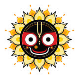 Jagannath. Indian God of the Universe. Royalty Free Stock Photo