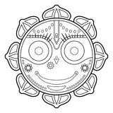 Jagannath, Indian God of the Universe  Royalty Free Stock Photo