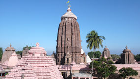 Jagannath Mandir świątynia w Puri. India obraz royalty free