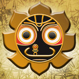 Jagannath symbol Stock Photo