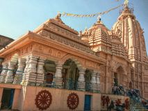 Jagannath Temple. This beautiful temple is very famous in my city Bhilai royalty free stock photos