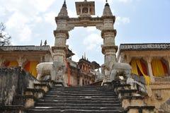 Jagat Shiromani Temple Jaipur royaltyfria bilder