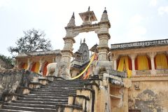 Jagat Shiromani Temple Jaipur arkivfoto