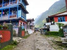 Jagat village Stock Image