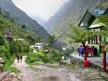 Jagat village Royalty Free Stock Photography