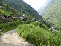 Jagat village Stock Photos